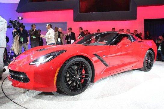 Stingray Auction 545x363 at First Corvette Stingray Sells for $1,050,000