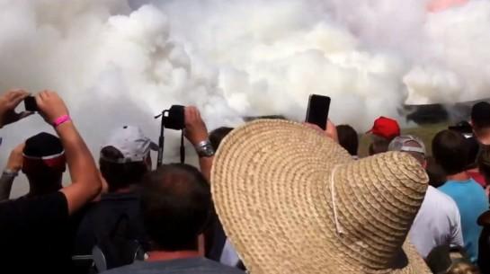 Summernats Burnout Record 545x305 at Video: Worlds Largest Simultaneous Burnout