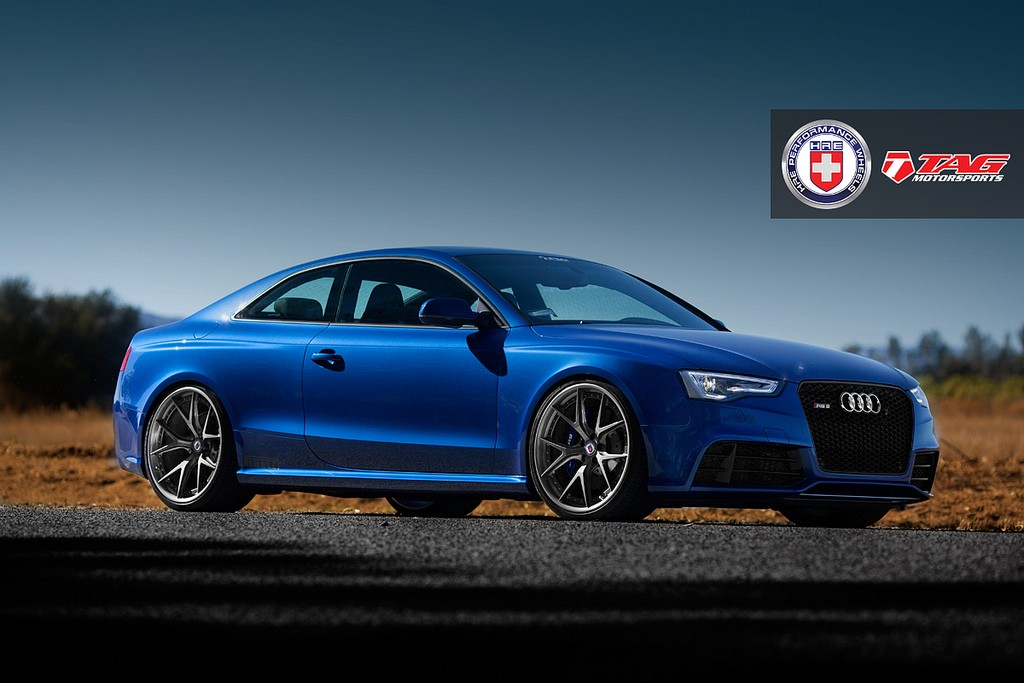 Tag Motorsports Audi Rs5 On Hre Wheels