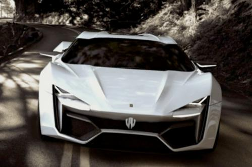 W Motors Lykan 0 at W Motors Lykan: $3.4M Middle Eastern Supercar
