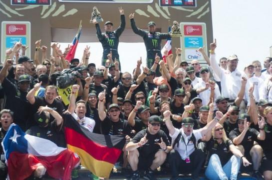 X raid MINI Dakar 2 545x362 at MINI ALL4 Racing Victorious at Dakar Rally 2013