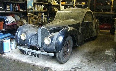 1937 bugatti type 57s atalante at 1937 Bugatti Type 57S Atalante   The diamond in the dirt!