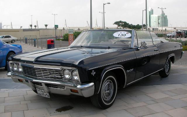 1966 chevrolet impala super at Classic Car Party To Celebrate UAE National Day