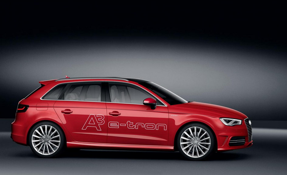 Audi A3 E Tron 2 545x331 At 188 Mpg Hybrid Unveiled
