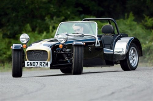 Caterham 7 Roadsport SV2 at Caterham ramps up production as well!
