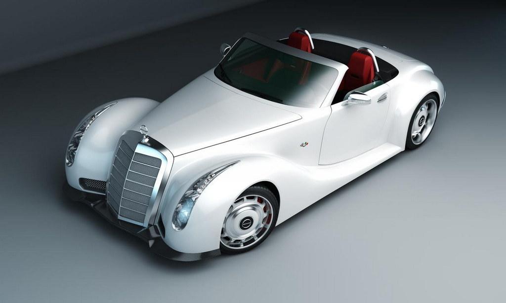 Slc Kit Car >> GWA 300 SLC Based on Mercedes SLS Roadster