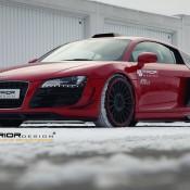 Prior Design Audi R8 Winter Photoshoot 4 175x175 at Gallery: Prior Design Audi R8 Winter Photoshoot