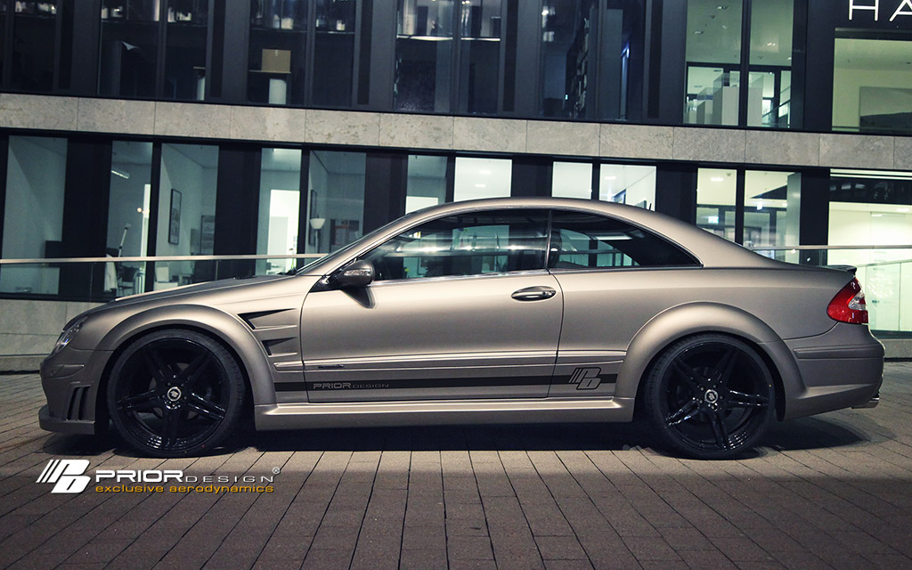 Gallery prior design mercedes clk black edition for Mercedes benz clk black series body kit