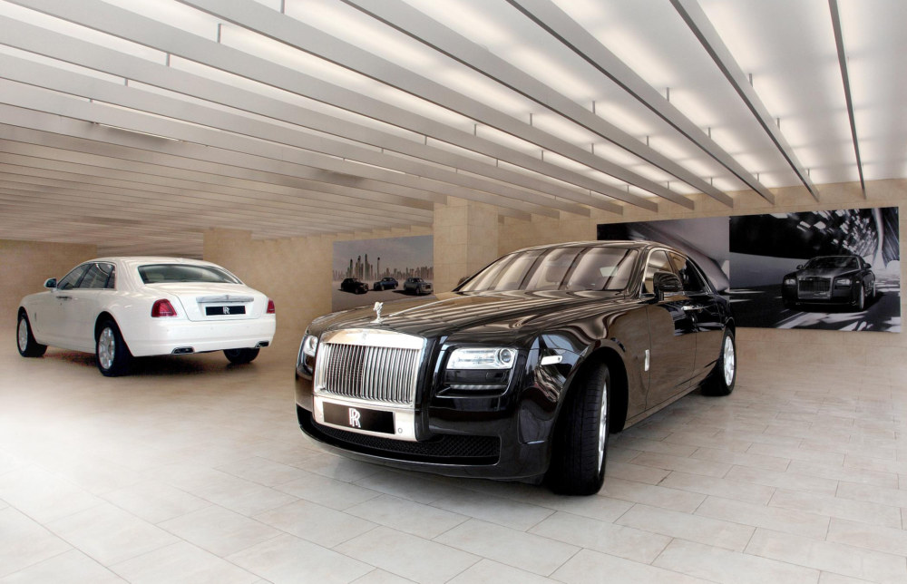 Rolls Royce Launches Third Indian Showroom