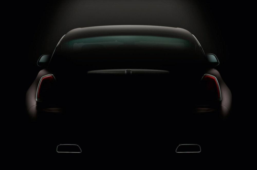 Rolls Royce Wraith Fastback Teased One Last Time