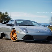 Rose Gold Lambo 2 175x175 at Gallery: Lamborghini Murcielago on Rose Gold PUR Wheels
