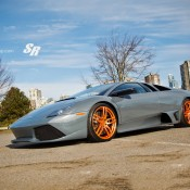 Rose Gold Lambo 3 175x175 at Gallery: Lamborghini Murcielago on Rose Gold PUR Wheels