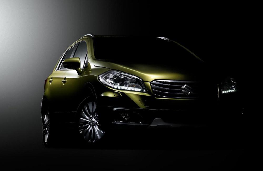 Suzuki C Segment Crossove at Production Version of Suzuki S Cross Debuts in Geneva