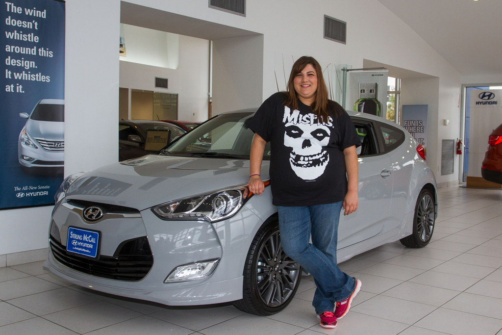First Hyundai Veloster RE:MIX Edition Delivered