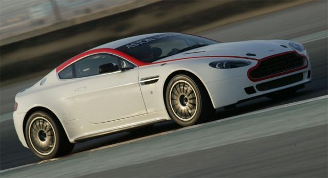 aston martin vantage gt4 3 at Aston Martin Launched Vantage GT4 at Dubai Autodrome