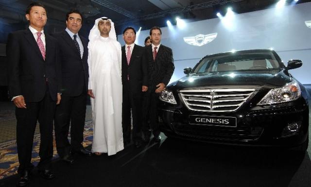 genesis launch at Hyundai Genesis launched in UAE