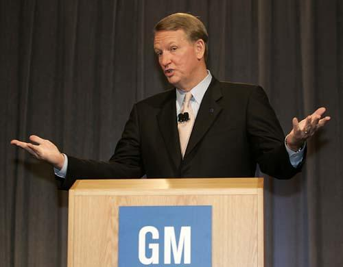 gm rick wagoner at GM and PSA sack CEOs!