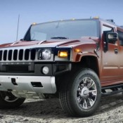 hummer h2 belack chrome 1 175x175 at GM offers Hummer H2 Black Chrome in UAE