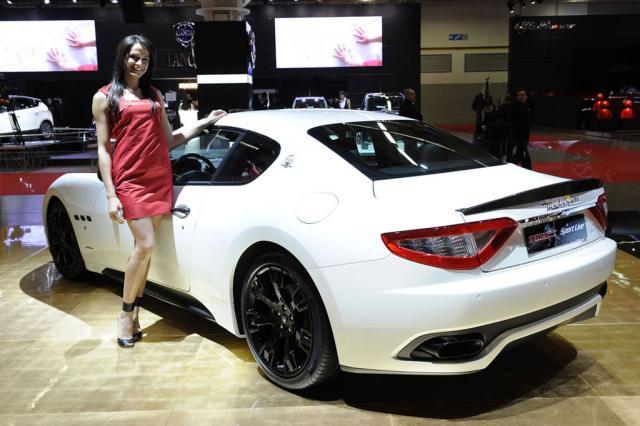 maserati granturismo mc sport line 3 at Maserati GranTurismo MC Sport Line at Bologna Motorshow
