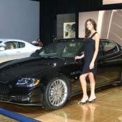 maserati quattroporte sport gts at 2009 naias 3 175x175 at Maserati Quattroporte GTS & Jaguar XFR   Live From Detroit