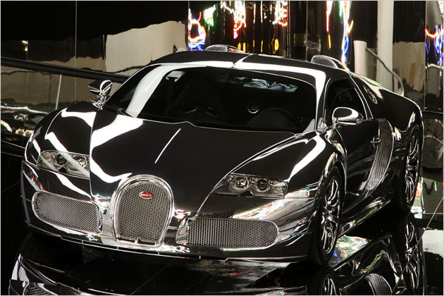 mirror finish bugatti veyron 002 1111 950x673 at Mirror finish Bugatti Veyron