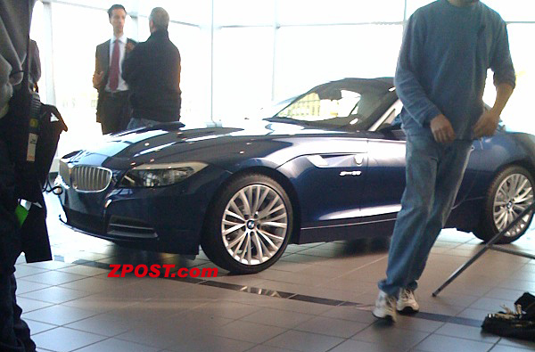 newz4 at First Image of 2009 BMW Z4