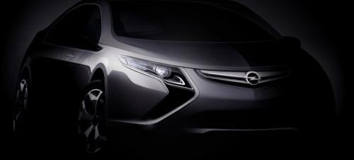 opel ampera 2010 at 2010 Opel Ampera teaser