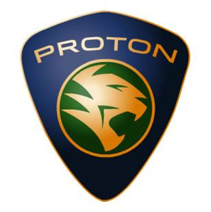 proton logo at Malaysias Proton to build new car with Mitsubishi