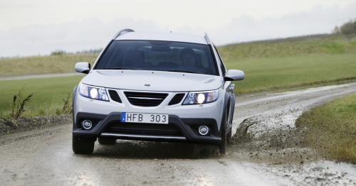 saab 9 3x 4 at SaaB 9 3X official pictures and video
