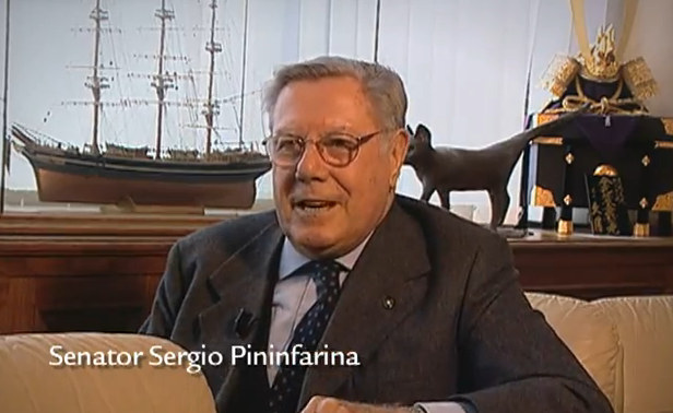 sergio pininfarina interview at From The Archives: Interview with Sergio Pininfarina