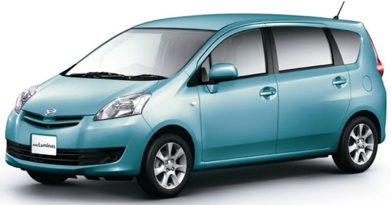 toyota 7seater at Toyota and Daihatsu make a compact 7 seater