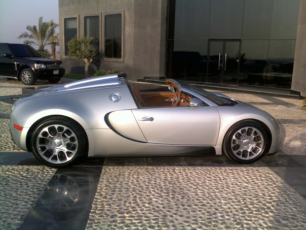 veyrin grandsport at Bugatti Veyron Grand Sport Spotted In UAE