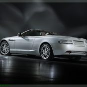 2011 aston martin db9 morning frost rear side 175x175 at Aston Martin History & Photo Gallery