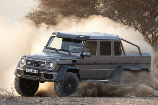 6x6 mercedes g63 1 545x362 at Mercedes G63 AMG 6×6   Official Pictures and Details