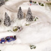 Citroen diorama 6 175x175 at Citroen Celebrates WRC Success with Unique Diorama