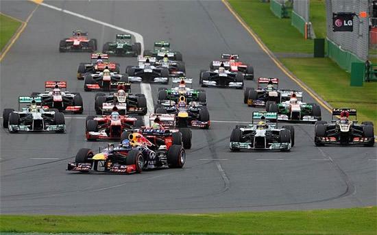 F1 Australia at F1 Australia Grand Prix Roundup