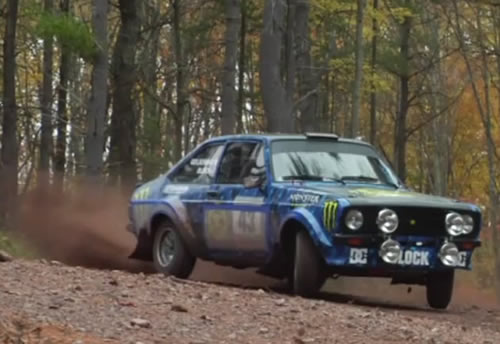 Ford MkII Escort at Ken Block Old School Hooning