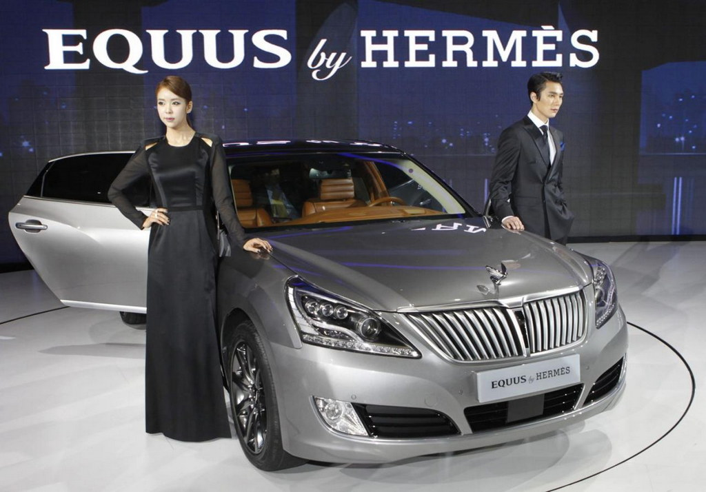 Hyundai Equus By Hermes Revealed In Seoul
