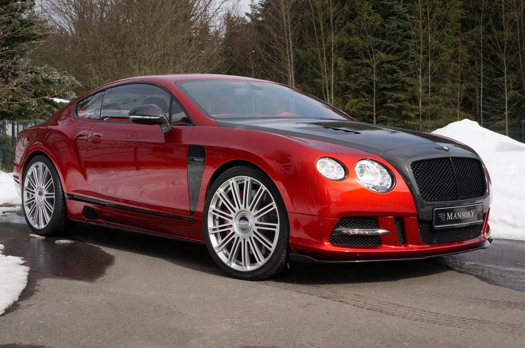 2013 Geneva Mansory Bentley Continental Gt Sanguis
