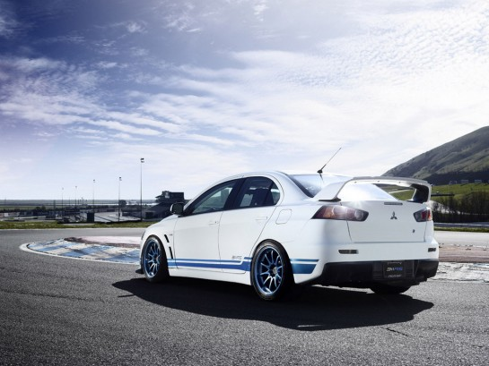 Mitsubishi Evo X 311RS 3 545x409 at Mitsubishi Evo X 311RS Announced