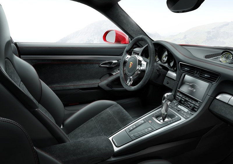 Porsche 991 Gt3 Interior Design Explained In New Video