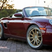 Porsche Boxster on HRE Wheels 4 175x175 at Gallery: First Gen Porsche Boxster on HRE Wheels