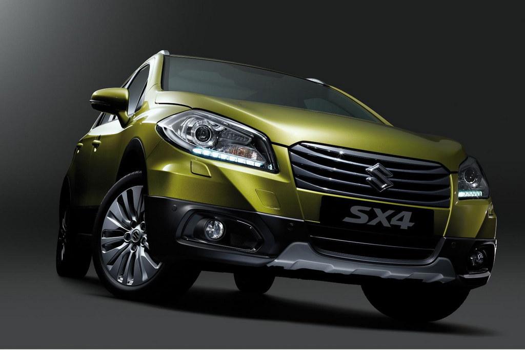 Suzuki SX4 Crossover 1 at 2013 Geneva: Suzuki SX4 Crossover