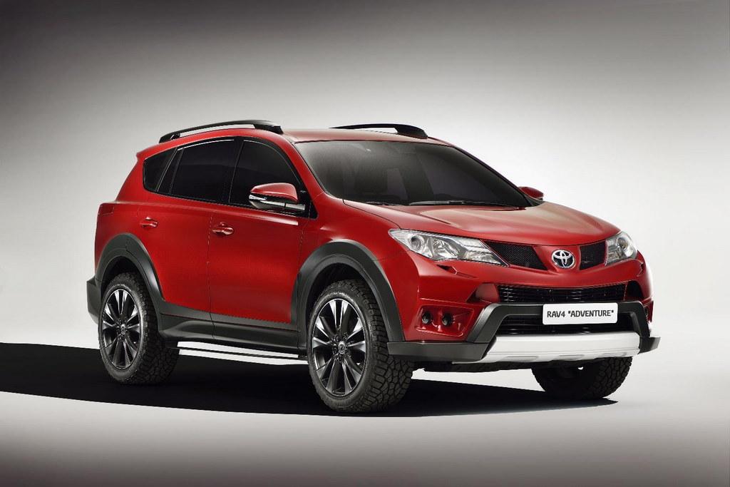 2013 Geneva Toyota Rav4 Premium And Adventure