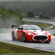 aston martin v12 zagato at the nurburgring front 2 1 175x175 at Aston Martin History & Photo Gallery