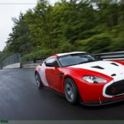 aston martin v12 zagato at the nurburgring front side 2 175x175 at Aston Martin History & Photo Gallery