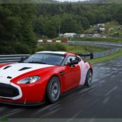 aston martin v12 zagato at the nurburgring front side 3 175x175 at Aston Martin History & Photo Gallery