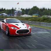 aston martin v12 zagato at the nurburgring front side 6 1 175x175 at Aston Martin History & Photo Gallery