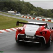 aston martin v12 zagato at the nurburgring rear 175x175 at Aston Martin History & Photo Gallery