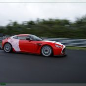 aston martin v12 zagato at the nurburgring side 175x175 at Aston Martin History & Photo Gallery